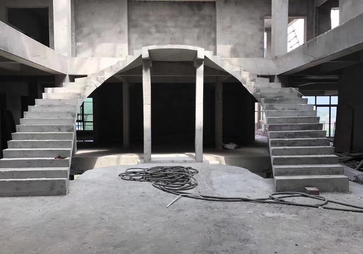 别墅楼梯花式改造