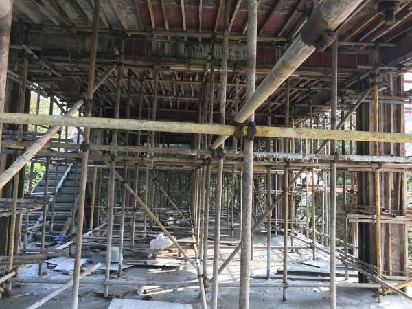 渝北厂房修建结构搭建