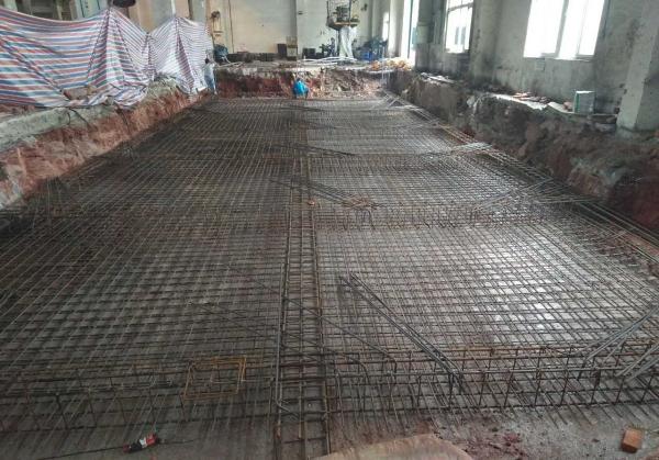 厂房地基修建