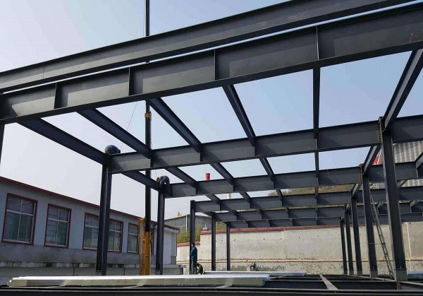 厂房钢架结构修建